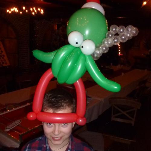 Kerst - de kerstoctopus; wie kent 'm niet